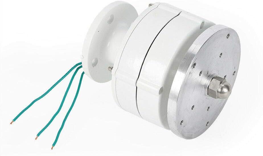WUPYI2018 Windgenerator mit Controller ohne Pfosten Windgenerator 24 V elektrisch f/ür Windrad Wei/ß vertikal 600 W Windturbine 5 Fl/ügel Windlicht