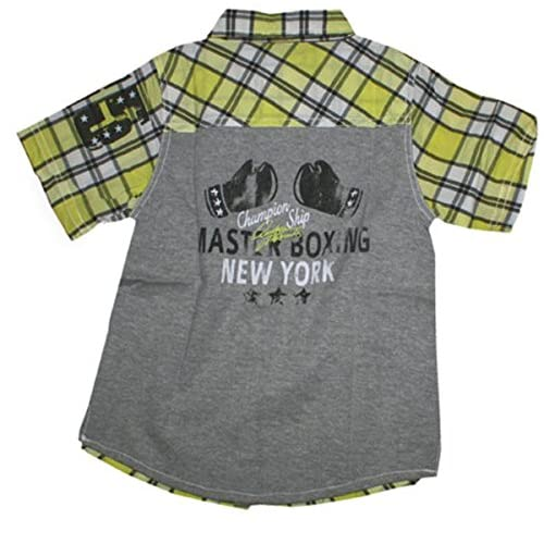 2d5c2e8f9 Blue Seven - Camisa - Camisa - Manga corta - para niño Amarillo gelb ...