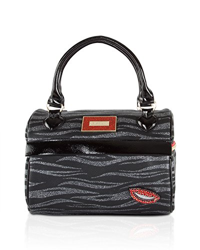 Betsey Johnson Womens Bag - Betsey Johnson Women's Speedy Lunch Tote Black One Size