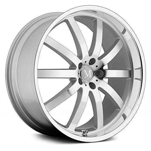 Mandrus Wilhelm 18 Silver Wheel / Rim 5x112 with a 32mm Offset and a 66.56 Hub Bore. Partnumber ()