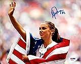 Alex Morgan Autographed 8x10 Photo Team USA PSA/DNA