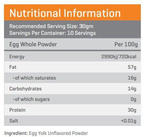 Advance Nutratech BulkAmino Egg Yolk Powder 300gram Unflavored&Creatine Monohydrate unflavored 100g