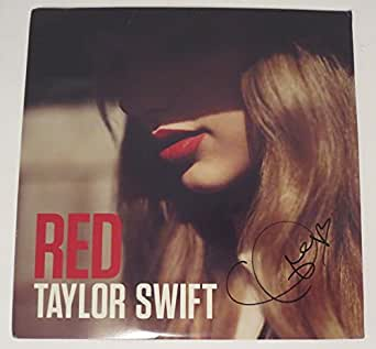 Taylor Swift REAL hand SIGNED RED 2x Vinyl LP JSA Full LOA Autographed RARE