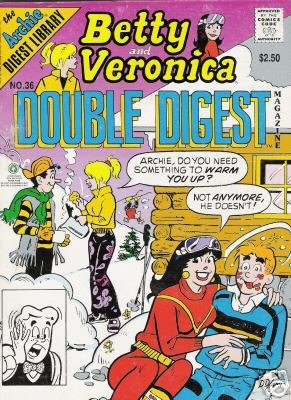 Betty and Veronica Double Digest Magazine No. 36 (The Archie Digest Library, No. 36)