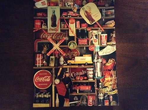 Coca Cola Brand Coke is It! Jigsaw Puzzle by Springbok 500 pieces 1986 (Coca Cola Puzzle 500 Piece)