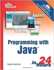 sams teach yourself java in 24 hours pdf