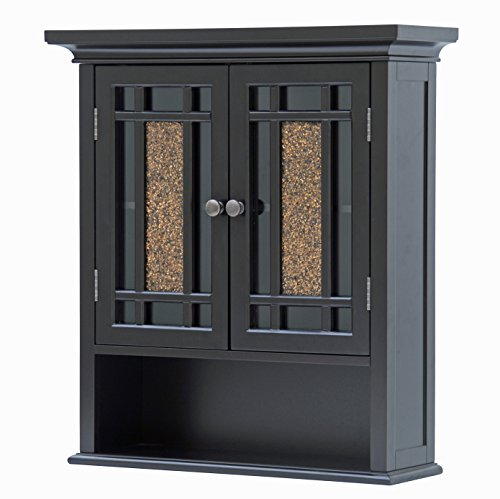 Elegant Home Fashions Whitney Wall Cabinet with 2 Doors and 1 Shelf by Elegant Home Fashions (Image #4)