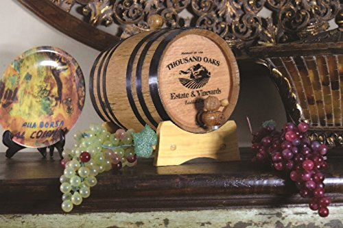 Decorative Wine Barrel (B310) by THOUSAND OAKS BARREL