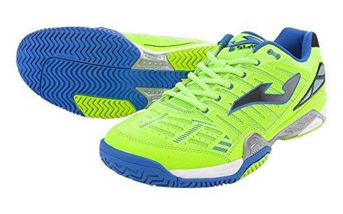 JOMA Slam - Zapatillas de tenis para hombre Verde Fluor 515
