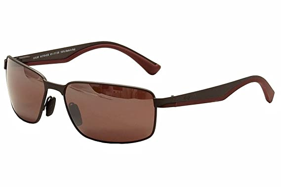 Maui Jim Back Swing 709 - 14 A 61 mm Gafas de Sol marrón Frame: Dark Gunmetal/Lens: Rose Talla única: Amazon.es: Ropa y accesorios