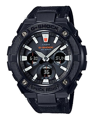CASIO G-Shock G-Steel GSTS130BC-1A Black Watch