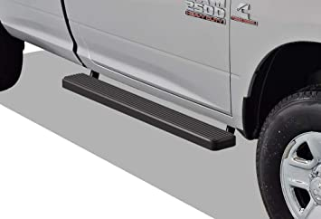 4 Full Size Doors,Exclude Diesel 6inch Nerf Bars Side Armor for 2009-2018 Dodge Ram 1500//2500//3500 Crew Cab 2pcs Black Side Steps Running Boards