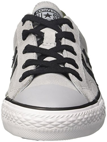 Converse Star Player Ox Mens Trainer Nero Grigio