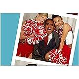 Iqbal Theba 8 Inch x 10 Inch PHOTOGRAPH Glee (TV Series 2009 - 2015) Screaming Between Heather Morris & Naya Rivera kn
