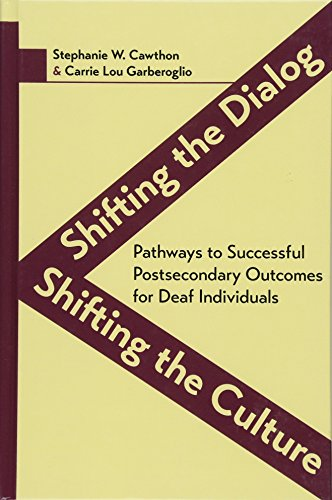 Shifting the Dialog, Shifting the Culture: Pathways to Successful Postsecondary Outcomes for Deaf Individuals (Deaf Education Series)
