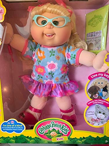 Cabbage Patch Kids, Blonde, 14 Inch Doll, Cute Floral for sale  Delivered anywhere in USA