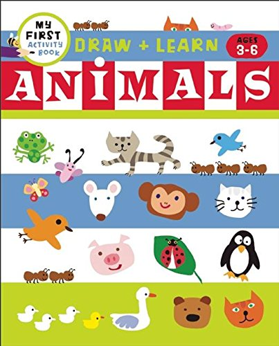 Draw + Learn: Animals (My First Activity Books) pdf