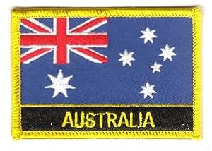 –Parche de Australia Texto la bandera de la Región Suiza®
