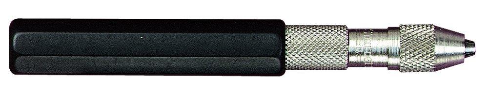 Starrett 166B Pin Vise With Insulated Octagonal Handle, 0.030''-0.062'' Range