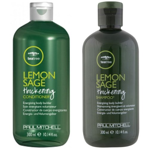 Paul Mitchell Tea Tree Lemon Sage 10.14 oz Bottles Set