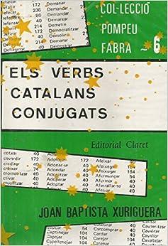 Book Els Verbs Catalans Conjugats