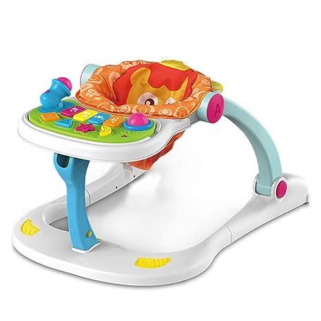 WMYJXD Andador para Bebés, Andador De Música Cuatro En Uno ...