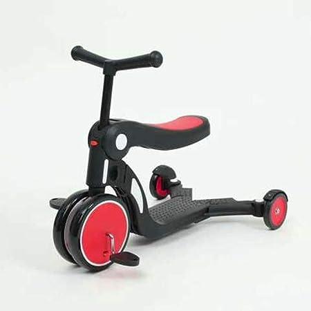 CHAOLIU 3 en 1 bebé Balance Bicicleta Bicicleta bebé Andador Juguetes para 1año de Edad niños/niñas 10 meses-24 Meses Primer Regalo de cumpleaños de la Bicicleta del bebé,Red: Amazon.es: Hogar