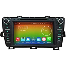 8 inch 4G Octa Core 64-BIT 2GB RAM 8 inch Android 6.0 Car DVD Radio Player For Toyota Prius 2009 2010 2011 2012 2013 GPS Stereo BT System 7 button lights color for choosing (without can bus)