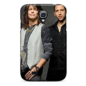Bumper Hard Phone Cover For Samsung Galaxy S4 With Provide Private Custom High Resolution Foo Fighters Pattern ChristopherWalsh