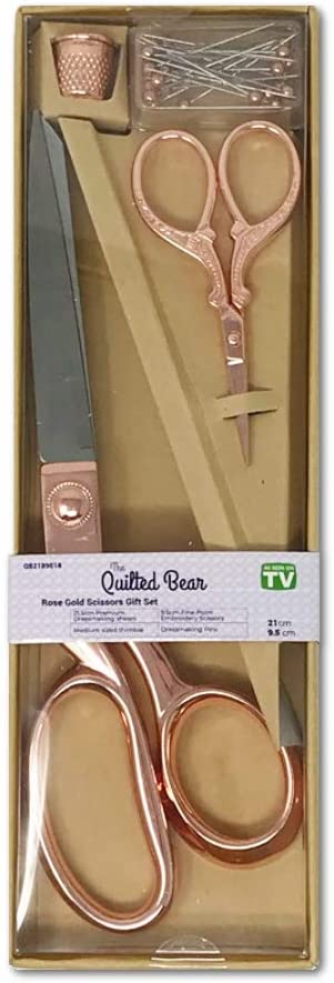 Quilted Bear Rotary Blade Sharpener /& 45mm Titanium Replacement Blade