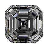 GIA Certified Asscher Cut Natural Loose Diamond 1.74 Carat D Color SI1 Clarity - 1 3/4 Ct