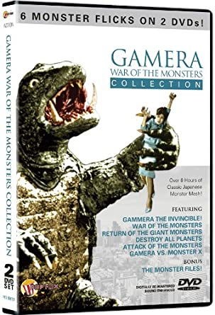 Amazon Com Gamera War Of The Monsters Collection N A Movies Tv
