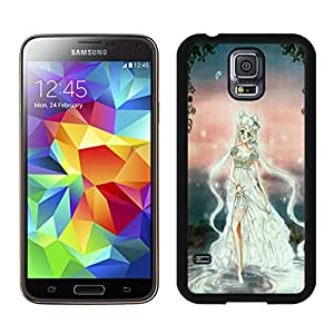 Popular Designed Case With Sailor Moon Cover Case For Samsung Galaxy S5 I9600 G900a G900v G900p G900t G900w Black Phone Case CR-543