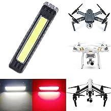 Toogod Drone Strobe Light,Red&White 5 Modes,Drone Locator LED Light,Safe Strobe Light for Drone DJI MAVIC PRO/Phantom 3/Inspire 1/Inspire 2 or Other UAV,Included Battery