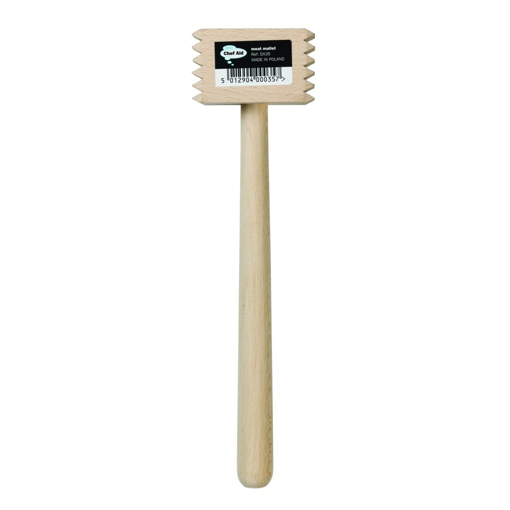 Chef Aid Wooden Meat Mallet George East 10E00035