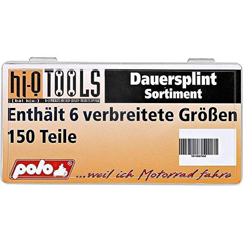 6 Verschiedene Gr/ö/ßen Multipurpose Hi-Q Tools Dauersplint-Sortiment 150 TLG