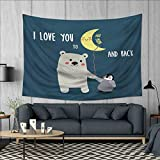 Best Pillow cases love Friends Iphone 5s Cases - Anhuthree I Love You Tapestry Table Cover Bedspread Review