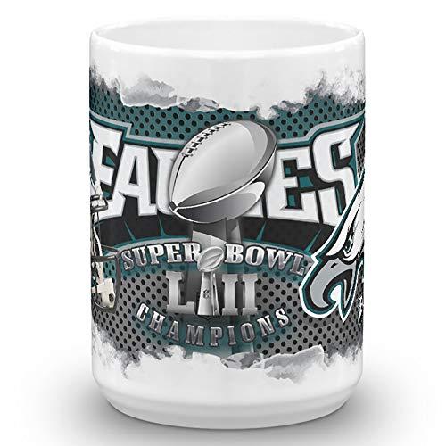 (Philadelphia Eagles Super Bowl Champions 52 LII 2018 Philly Trophy Ring Coffee Mug (15oz))