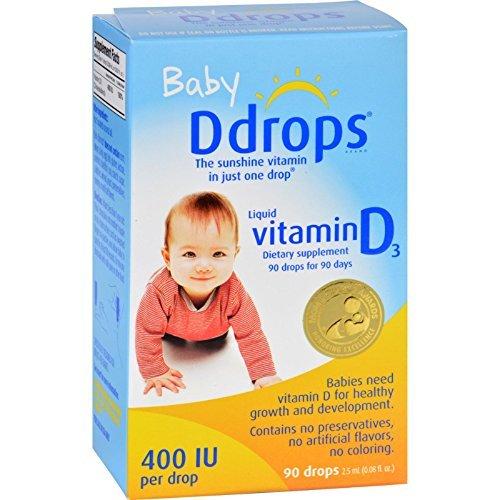 Ddrops Vit D Baby 400 Iu 90 Drop .08 Fz by Ddrops
