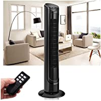 40 LCD Tower Fan Digital Control Oscillating Cooling Air Conditioner Bladeless