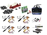 Generic robokart_171 Quad Copter Combo Pack with 6 Channel Transmitter and Receiver (kk 2.15)