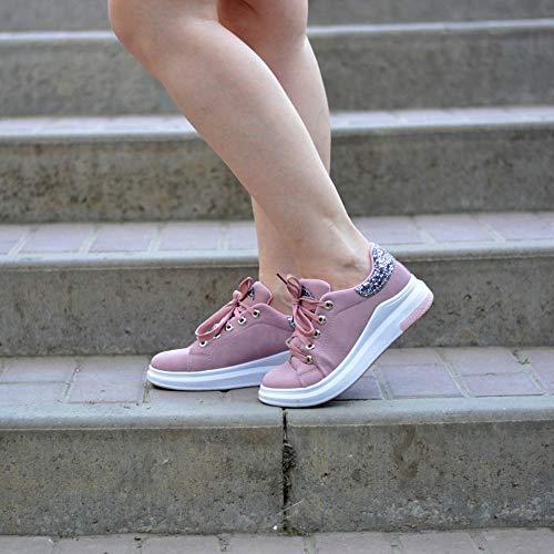 Chaussures Baskets Confortable Femmes Décontractées Flats Étudiant Printemps Femme Lady De Mode Chaussures Nouvelles Automne Femme Doux Chaussures LIANGHUA BYqwgvCnxz