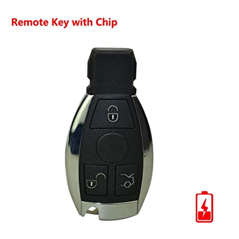 Amazon com: FLYPIG 3 Button 433mhz Remote Key Fob for