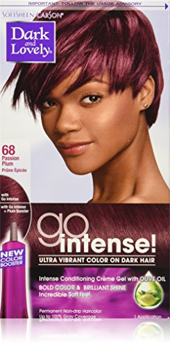 Dark and Lovely Go Intense! Intense Conditioning Creme Gel with Olive Oil, (Dark Plum)
