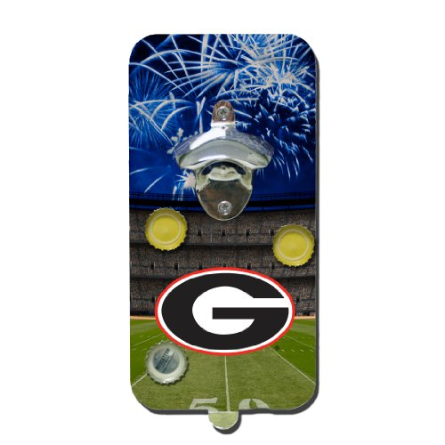 [Georgia Clink 'n Drink] (Georgia Bulldogs Bottle Opener)