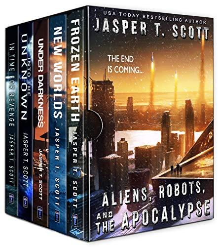 Aliens Robots and The Apocalypse (A Five Book Bundle) by [Scott, Jasper T.]
