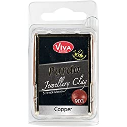 Viva Decor Pardo Jewelry Clay, 56g, Copper
