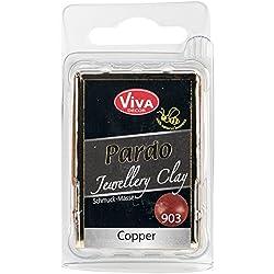 Viva Decor Pardo Jewelry Clay, 56g, Copper