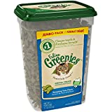 Greenies FELINE Dental Treats For Cats Tempting Tuna Flavor 11 Ounces With Natural Ingredients Plus Vitamins, Minerals, And Other Nutrients