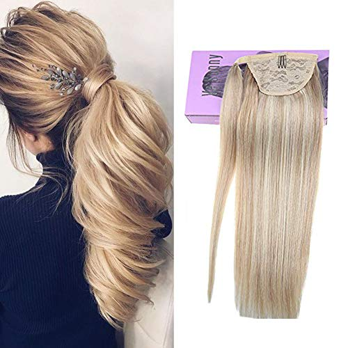 Buy human hair pony tail extension